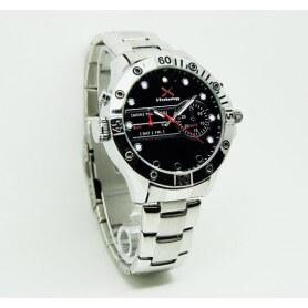 SEM-28 Reloj espia HD 720p H264 con leds IR no visibles y LED tipo linterna