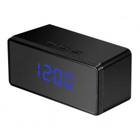 Reloj Espía para dormitorio Full HD 1080p Con vision nocturna y Deteccion de Movimiento