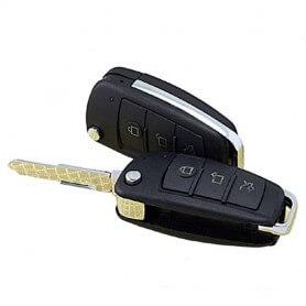 Llave de coche espía HD 720p IR con deteccion de movimiento y visión nocturna