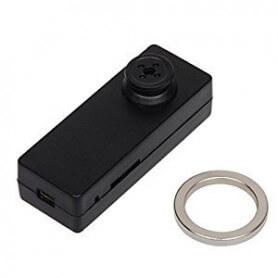 Mini cámara espía de botón Full HD 1080p con deteccion de movimiento
