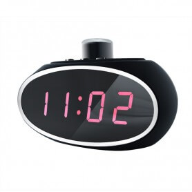 Reloj Espía con lente rotativa 330º y deteccion de movimiento SEM-34
