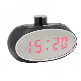 Reloj Espía WIFI con lente rotativa 330º y deteccion de movimiento SEM-30