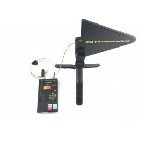 Protect 1206i Detector de frecuencias portatil con antena de alta ganancia GSM, WIFI, LTE, 3G, 4G, Bluetooth, WI MAX