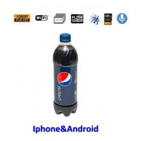 Botella Pepsi espía con camara oculta Wifi Full HD 1080p