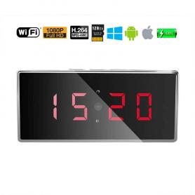 Reloj Espía 1080p Full HD WIFI gran angular 140º WIFI con visión noctura