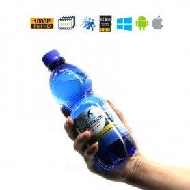 Botella de Agua Espía Full HD con detección de movimiento